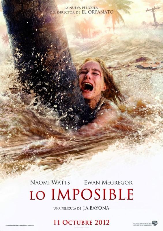 ตัวอย่างหนังใหม่ : The Impossible (2004 สึนามิ ภูเก็ต) ซับไทย poster