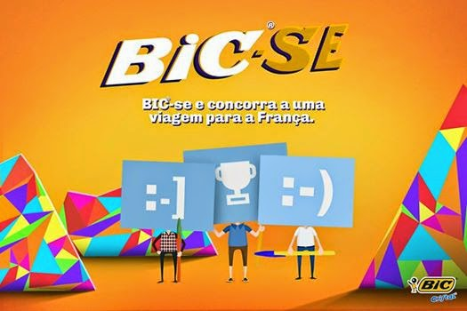 """Promoção """"Bic-Se"""" - Crie sua caneta BIC  e ganhe uma viagem para França!"""