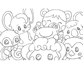 #7 Animal Crossing Coloring Page