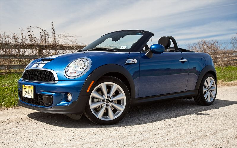 There Are Now Seven Cooper Models To Choose From The 2017 Mini S Roadster Is One Of Family Two Droptops Yet It Not Just A Seater Version