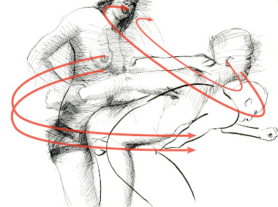 dessin erotique pornographique strapon femdom sodomie