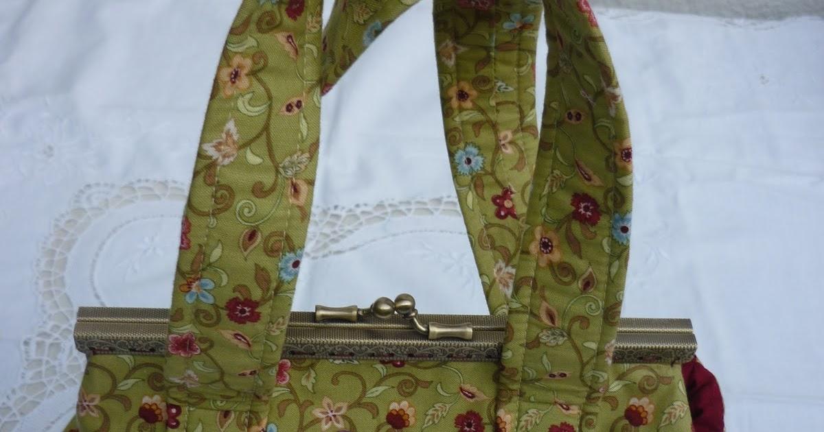 Casita del patchwork bolsas con broche - La casita del patchwork ...