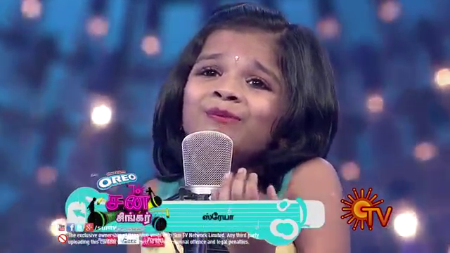Sun Singer3 – Putham puthu kaalai by Shreya & Judge comments