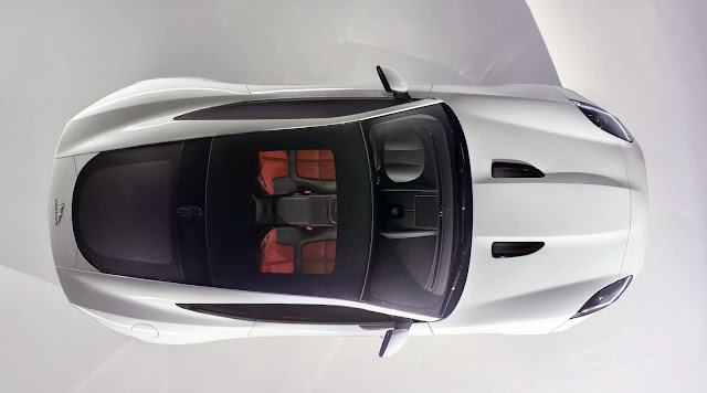 Jaguar F-Type Coupe official photo