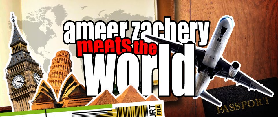 Ameer Zachery Meets The World