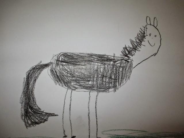 malen im Kindergarten zum Thema Pippi Langstrumpf
