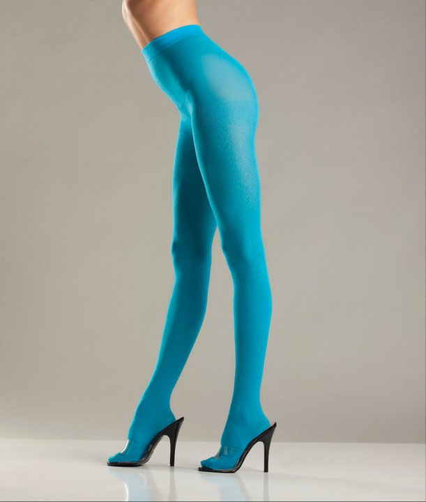 colored opaque tights - Collants Opaques Colors