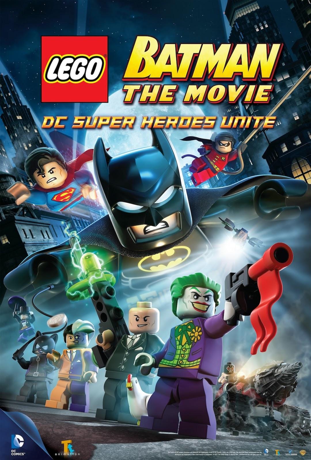 6 Malvorlagen Lego Superheroes: Héroes Animados: LEGO Batman: DC Super Heroes Unite