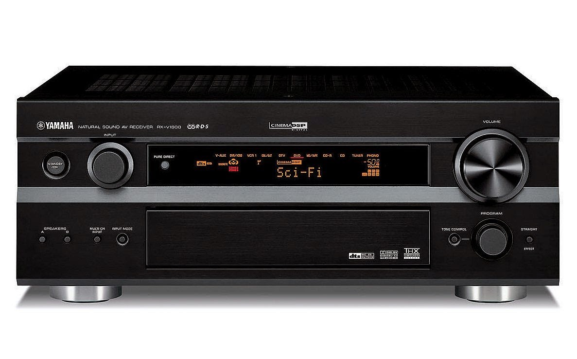 yamaha rx v1500rds av receiver audiobaza. Black Bedroom Furniture Sets. Home Design Ideas