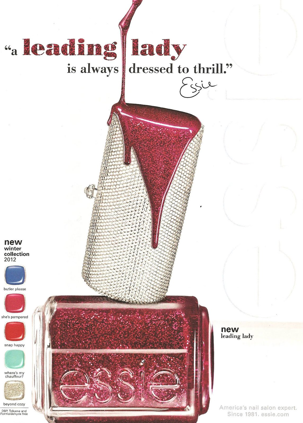 Stylish Nail Collection: Essie Winter 2012 | Stylelista Confessions