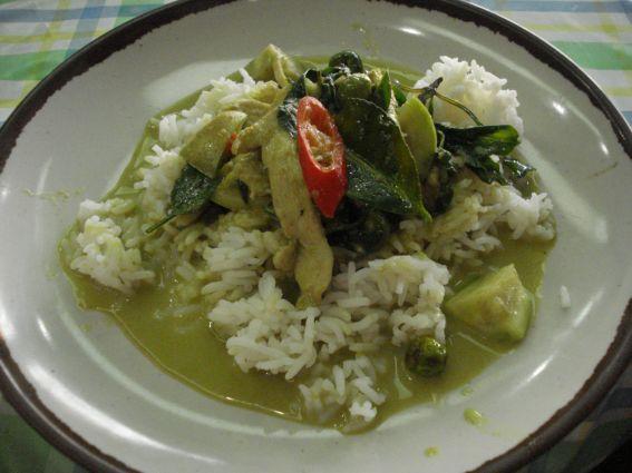 International Curry: Thai Chicken Green Curry Recipe