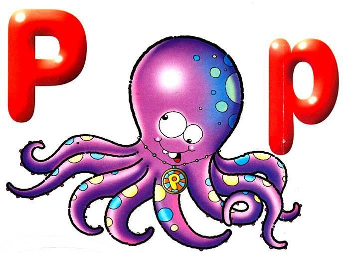 Desenho como desenhar letras do alfabeto letra P pintar e colorir