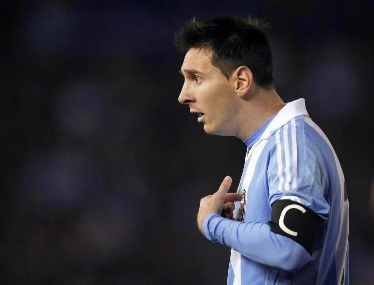 Lionel Messi New Hairstyle Fifa World Cup 2014Messi 2014 Hairstyle