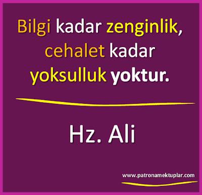 Hz. Ali Sözleri
