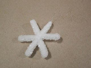 Снежинки из соли