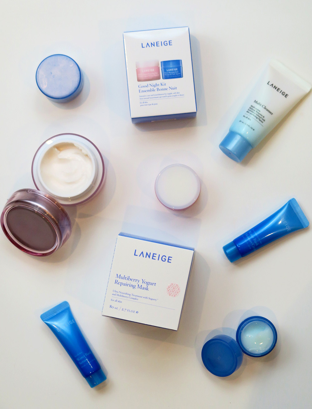 New Skincare Loves Laneige Advanced Hydration Kit Review Lip Sleeping Mask Travel Size You Can Find The Advance On Sephora For 15 Cad What A Steal I Love How Offers Trial Kits Its Great Way To Test Brand Before
