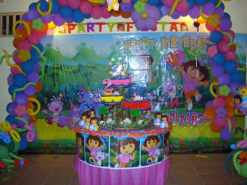 Dora Birthday Wall Decoration : Dora birthday party ideas supplies