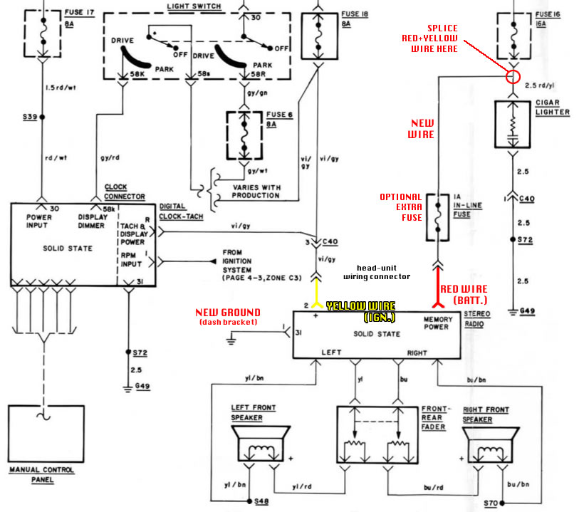 e21_radio_wiring e21 dub club how to stereo head unit retrofit 1982 bmw e21 jetronic wiring diagram at crackthecode.co