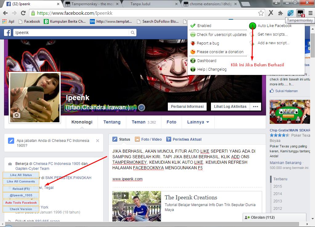 Fitur Bom Like Di Facebook - www.ipeenk.com