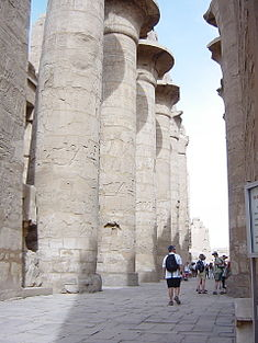 Great Hypostle at Karnak Temple