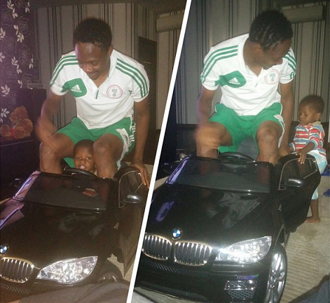 ahmed musa son