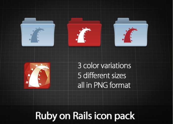 http://azizash.deviantart.com/art/Ruby-on-Rails-icon-pack-81755219