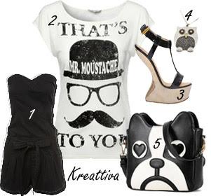 il mio stile black e white