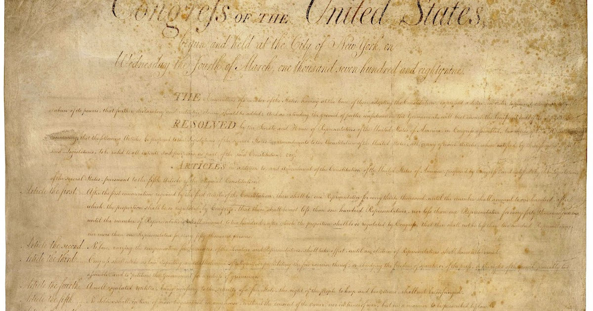 an essay on the bill of rights amendment Free essay: the bill of rights as it stands for the united states entered as a stems more about essay on bill of rights the fifth amendment and the bill of.
