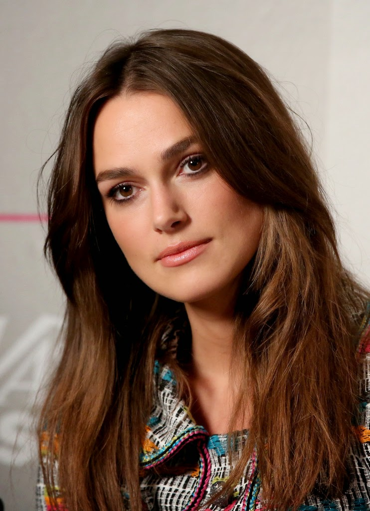 keira knightley long layer hairstyle
