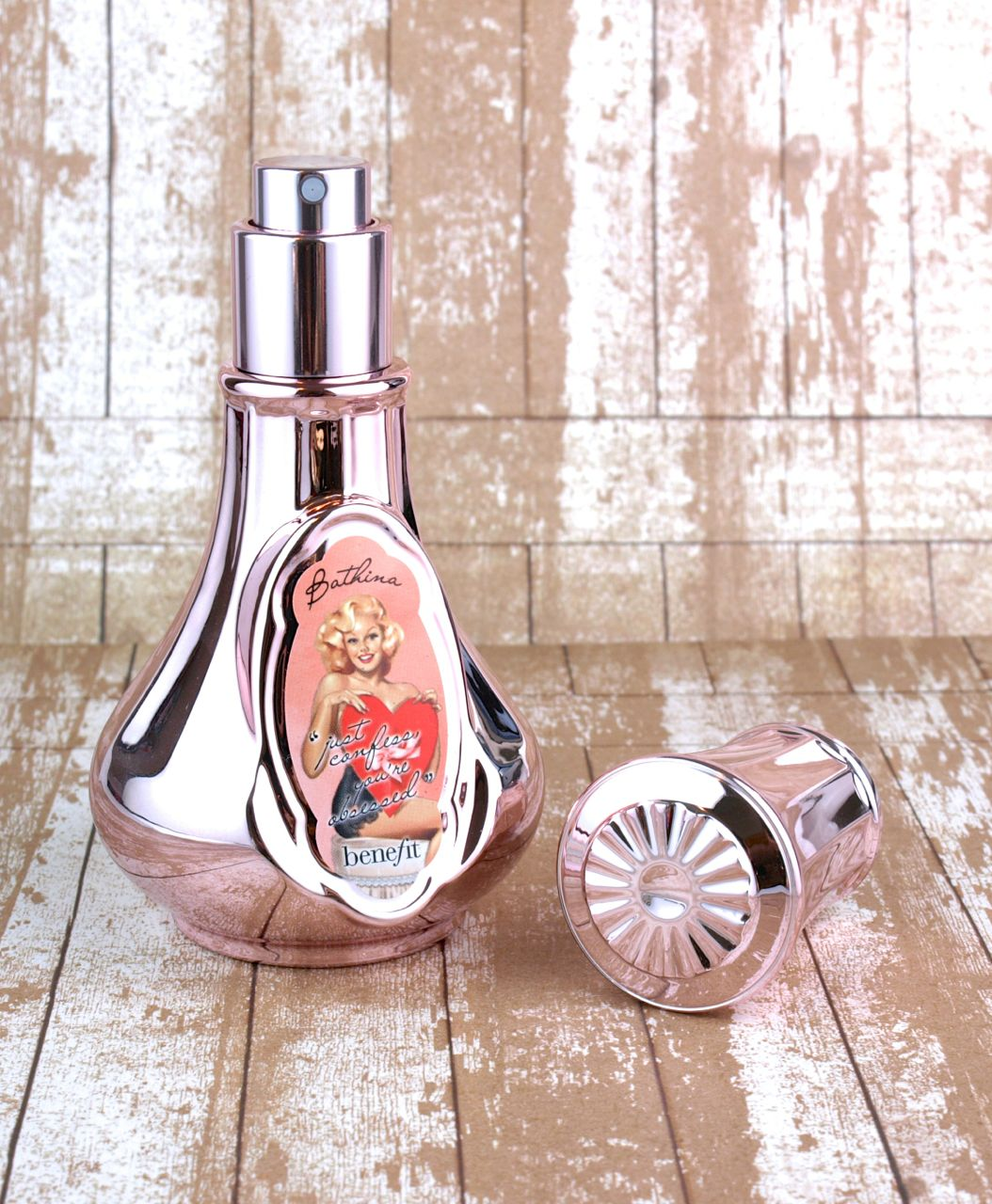 Benefit Cosmetics Bathina 'All Over Me' Just Confess You`re Obsessed Scented Body Mist: Review