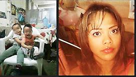 Denuncian desaparición de joven mujer embarazada y sus dos menores hijos