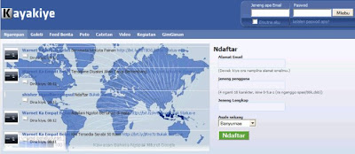 Indonesian 'Facebook' in 'Ngapak' Laguage