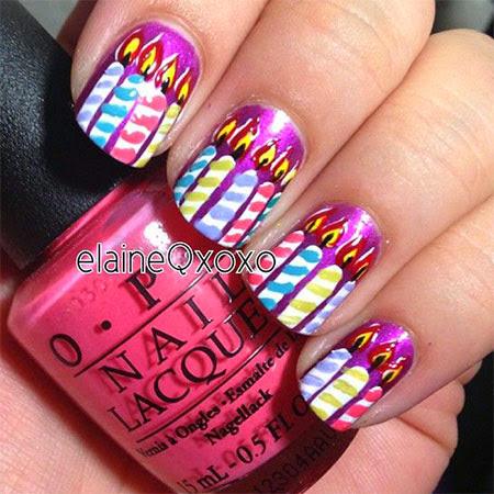 nail art design 2014 amazing happy