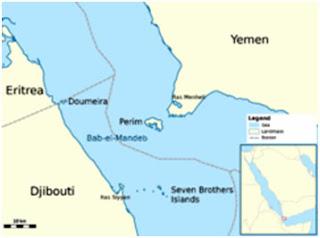 El Estrecho de Bab el-Mandeb