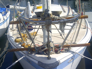 Jury Rig Mast From the Bow