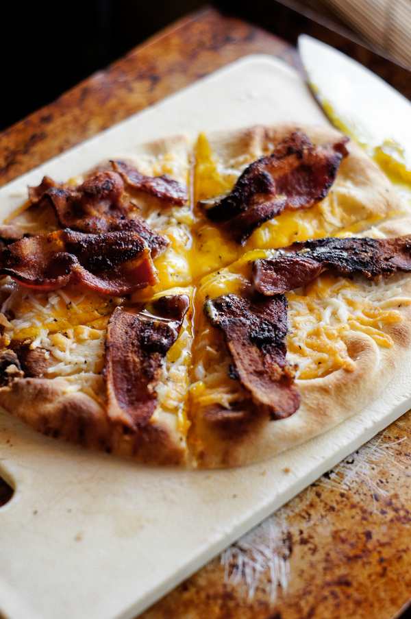 breakfast pizza Thumb In Plum