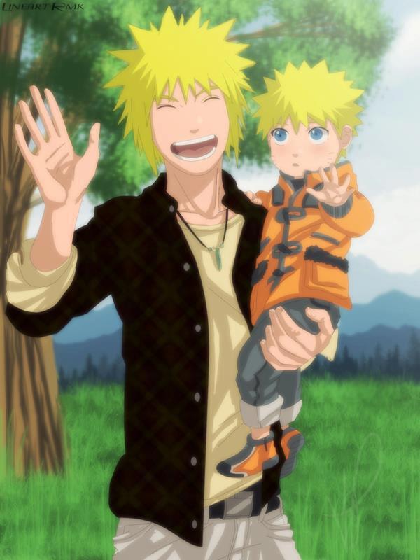 Naruto and hinata the future family anime jokes collection will their kids will inherit hinatas byakugan and maybe narutos uzumaki lineage voltagebd Images