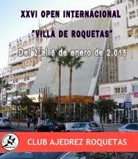 "XXVI Open Internacinal ""Villa de Roquetas"""