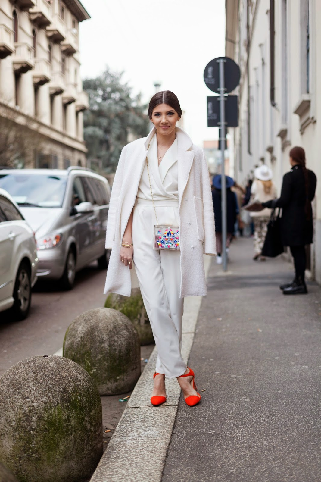 Milan Fashion Week f/w 15-16 street style - day 2
