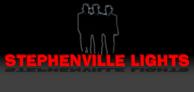 The Stephenville Lights and the Men in Black