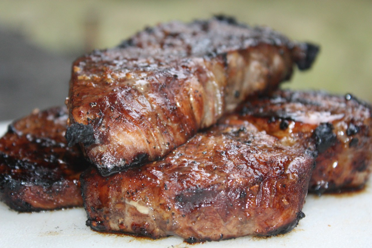 Porterhouse With Garlic-Soy Sauce Marinade Recipes — Dishmaps