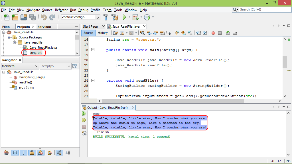 java file write