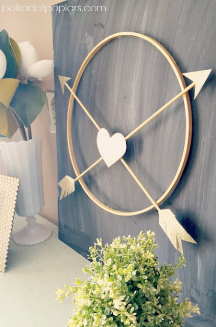 Arrow Heart Wreath