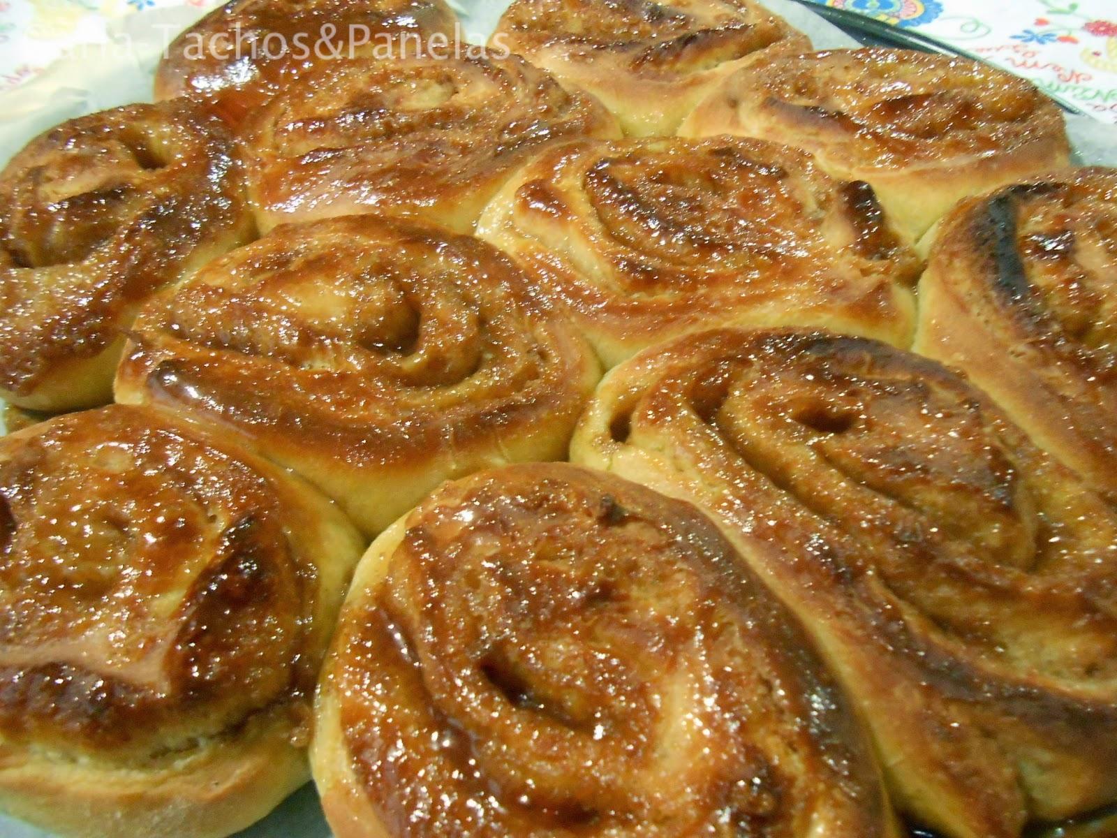 receita de cinnamon rolls