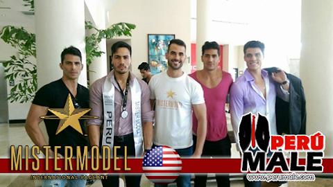 Primeras imágenes de Perú en Mister Model International 2015