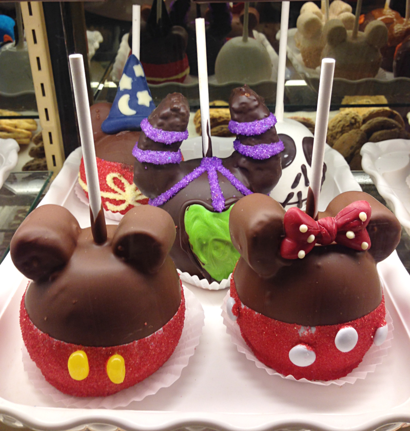Image result for disney world candy apples