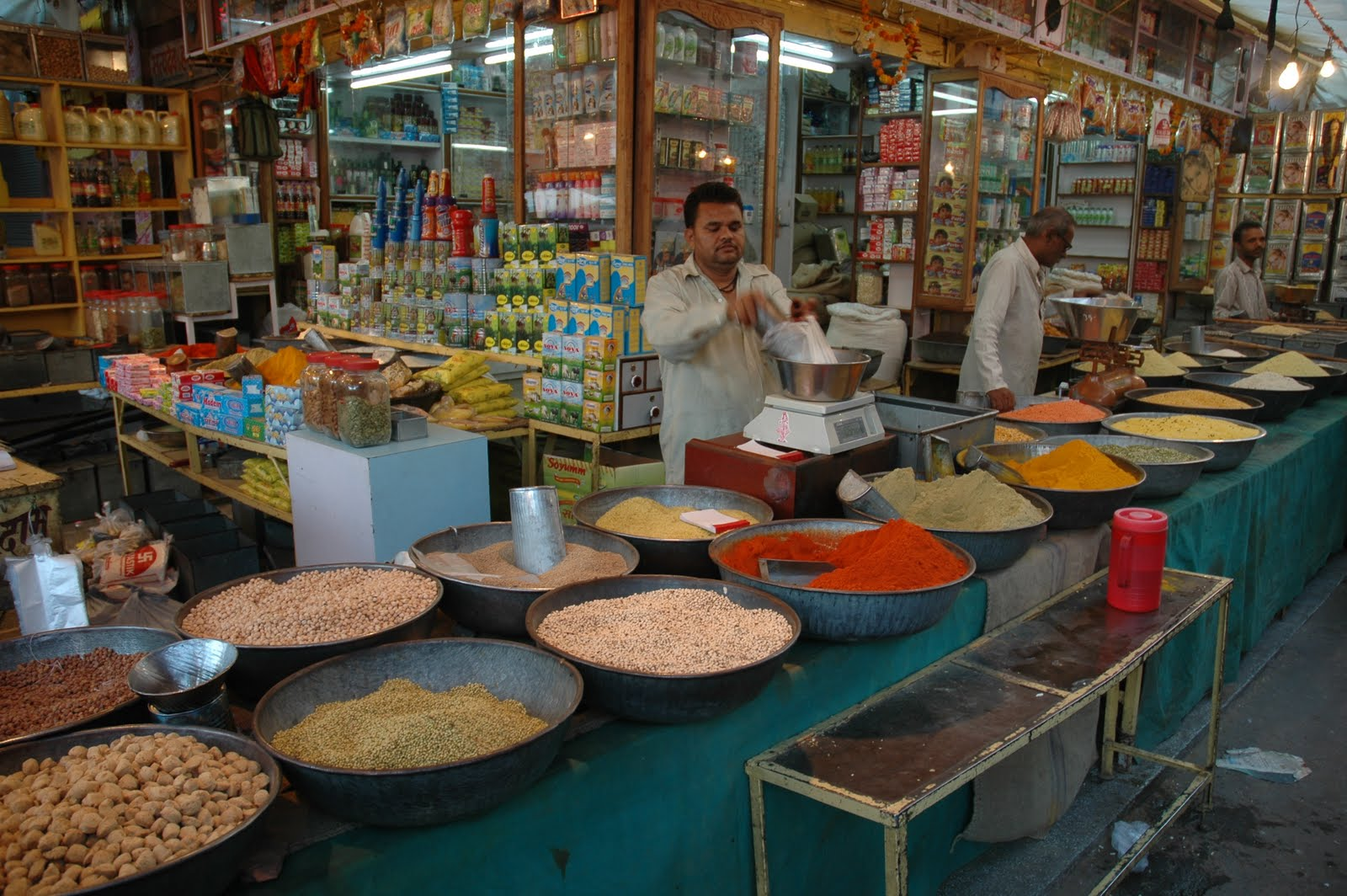 Indian Market Open Your Spice Box: S...