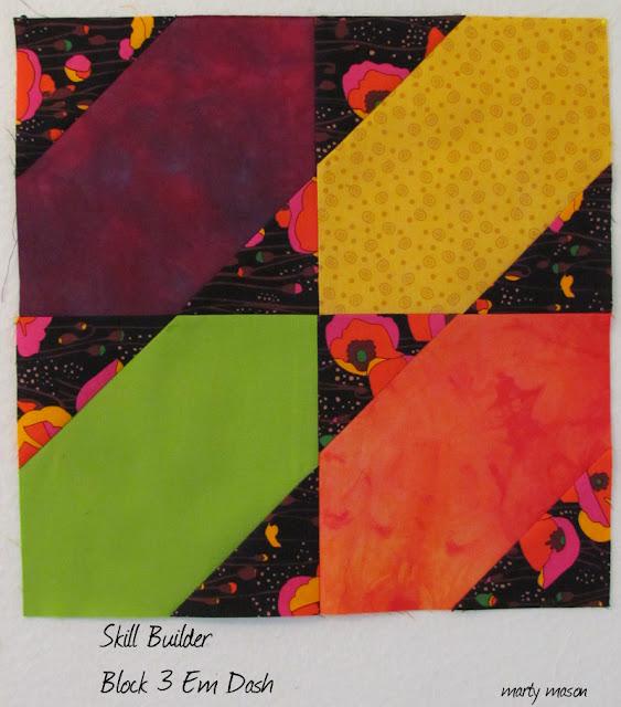 Pile O' Fabrics Skill Builder BOM #3