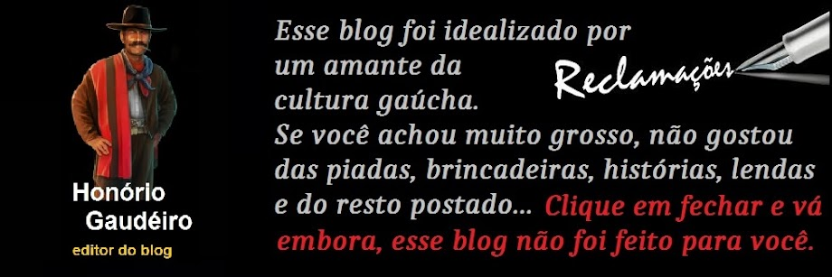 NOTA DO EDITOR SOBRE O BLOG