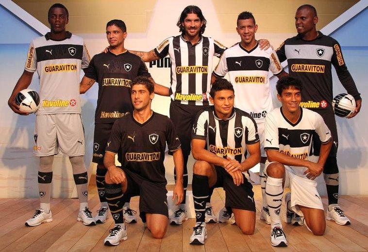 Botafogo apresenta os novos uniformes da Puma - Show de Camisas dc92006a1f915